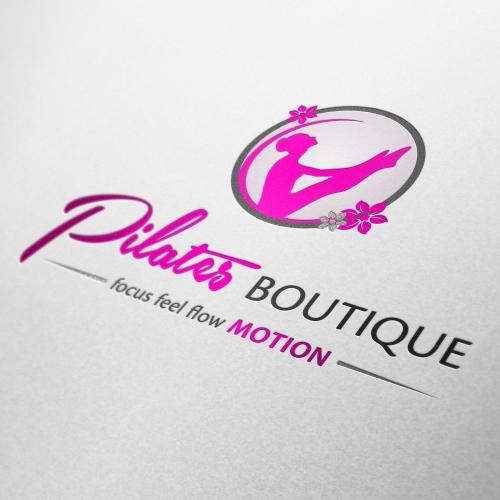 Pilates Boutique Logo Design