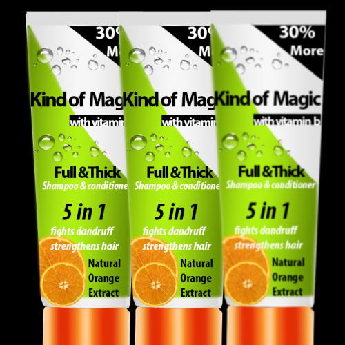 Shampoo Packaging Design