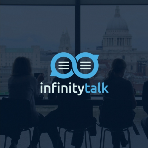 Infinity Talk Logo Design