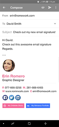 FREE Email Signature Generator By Designhill