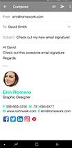 creative email signature