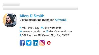 generate email signature