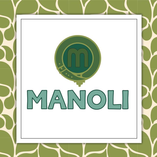 manoli logo history
