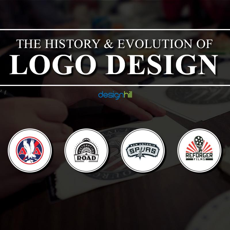 The History Evolution Of Logos Designhill