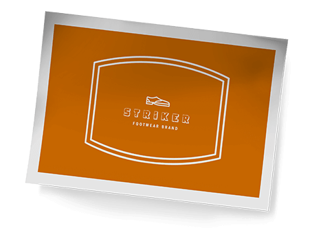 Footwear logo generator