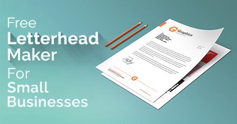 Free Letterhead Maker Letterhead Creator Designhill