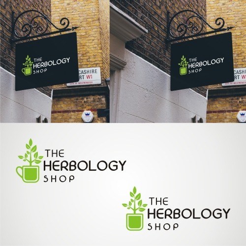 Herbology Retail Store Logo Design
