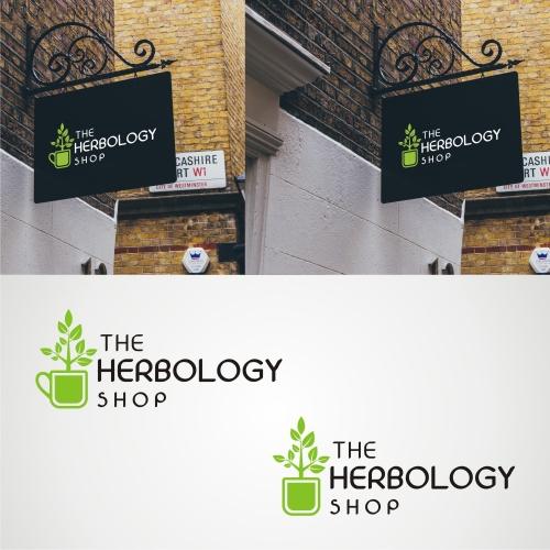 Herbology Retail Store Logo Design