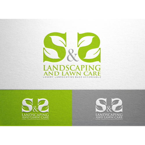 luxury landscaping logo
