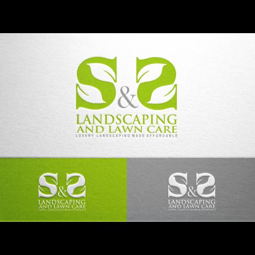 luxury landscaping logo