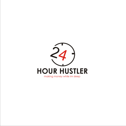 Abstract hustler logo Design
