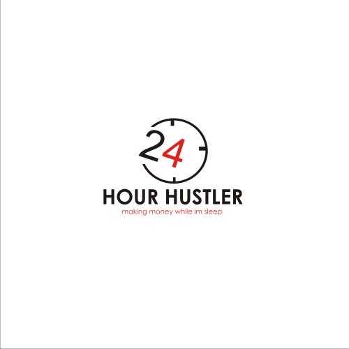 Abstract hustler logo Design