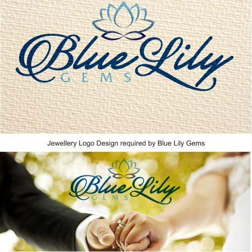 Blue Lily Gems Jewelry Logo