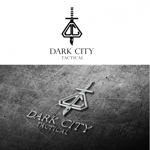 Dark City Abstract Logo Designs