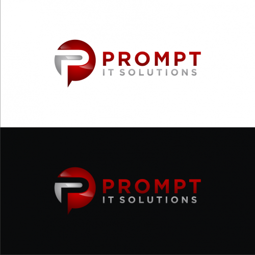 Prompt IT Abstract logo Design