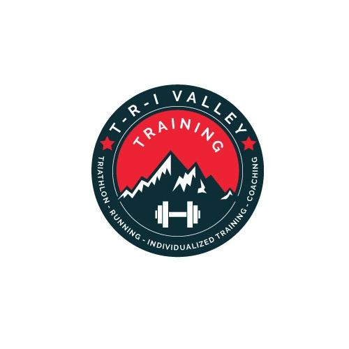 Fitness training logos