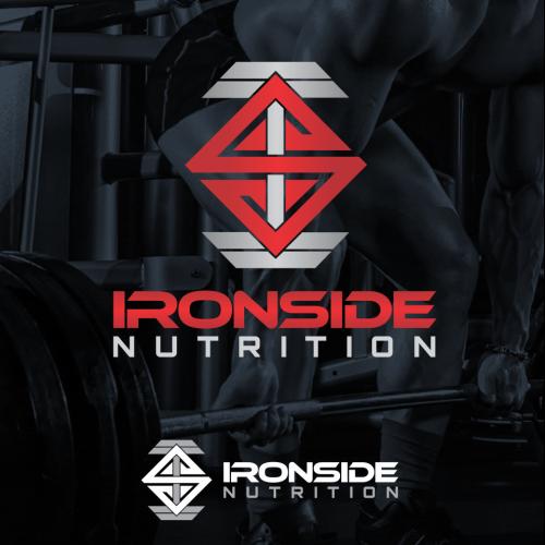 Fitness nutrition logos