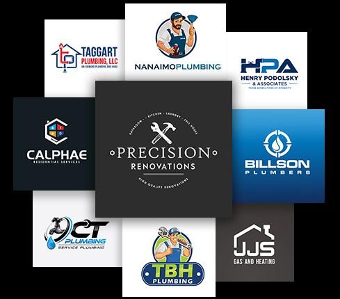 Plumbing Banner Logos