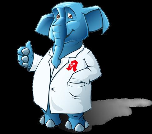 Elephant Mascot Design