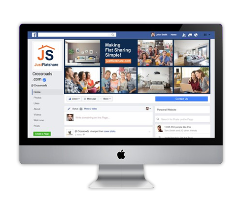 Construction Facebook Page Design