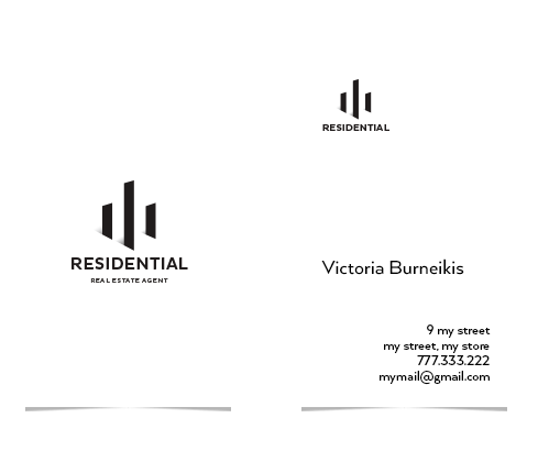 Residential Logo & Business Card Designs