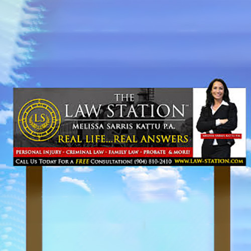 Attorney & Law Billboard