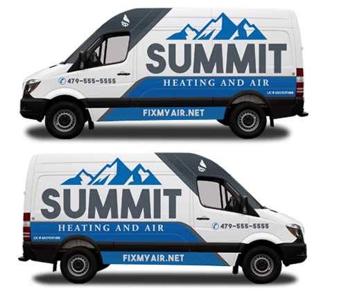 Summit Vehicle Wrap Design