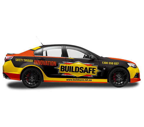 Buildsafe Car Wrap Design