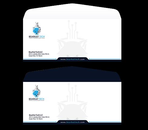 Tech Envelope Design Template