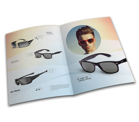 Jet Black Catalog template