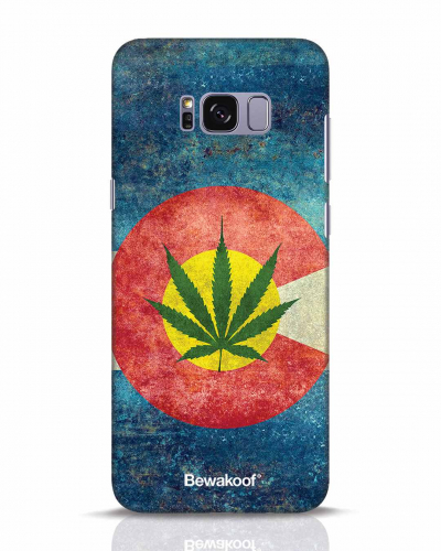Marijuana Mobile Cover Design