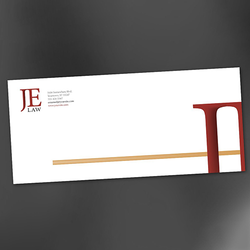 Attorney Law Firm Envelope Design