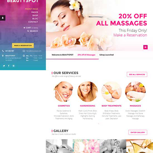 Spa Email Design