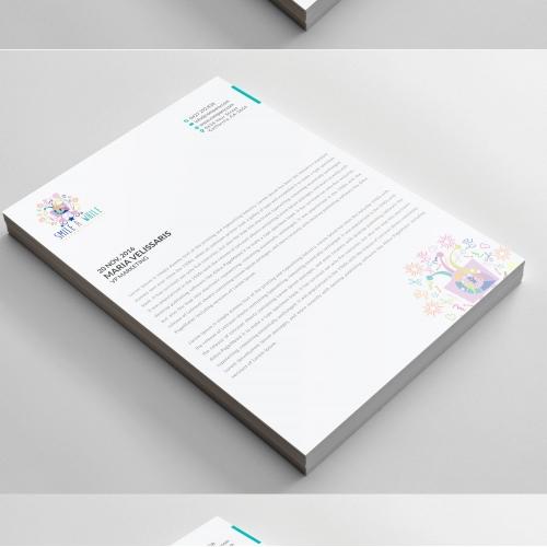 Company Professional Letterhead Design