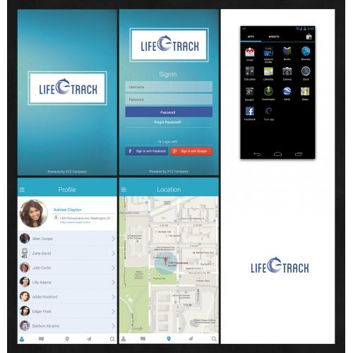 Healthcare App Design Template