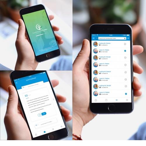 Tracking Mobile App UI Design