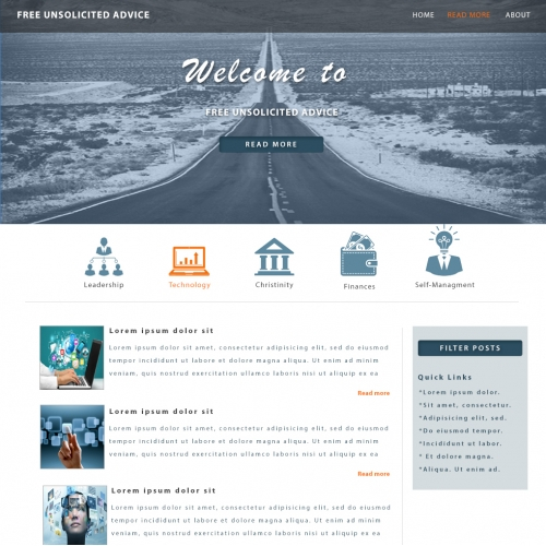 Advisory Web Design Blog