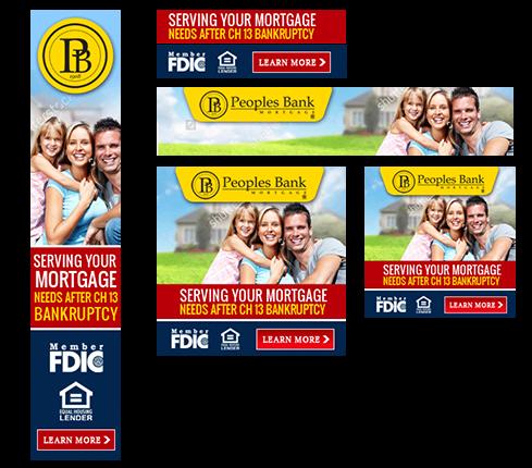 Banking Banner Ad Design