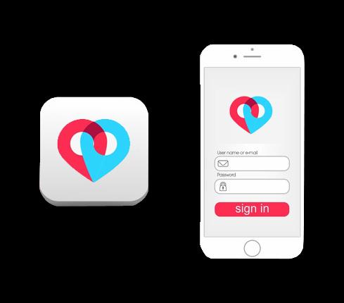 Wedding App Icon Design