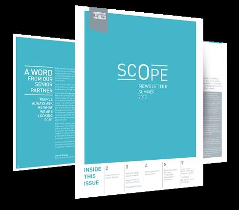 Scope Email Newsletter Design