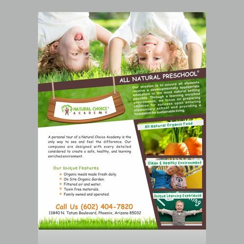 Education Newsletter Template Design