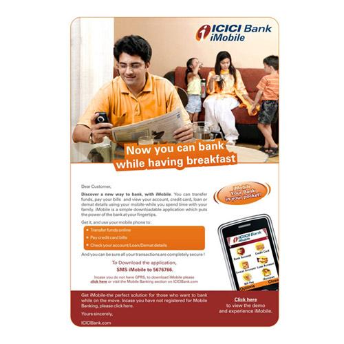 Bank Newsletter Design