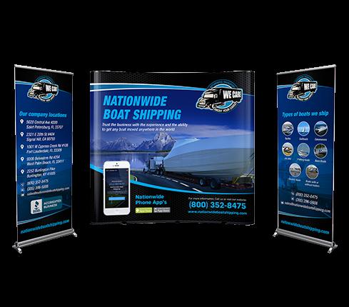 Automotive Trade Show Banner Design