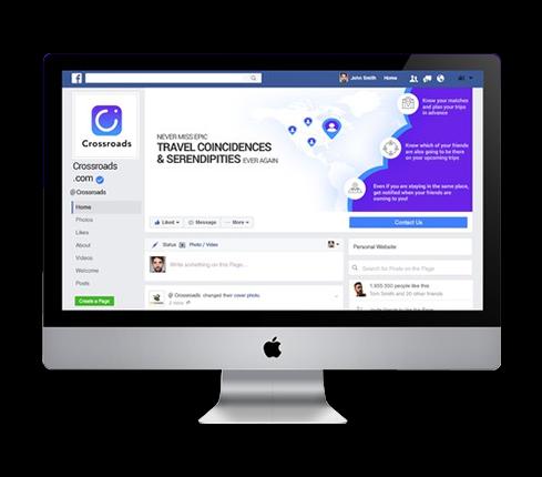 Travel Social Media Page Design