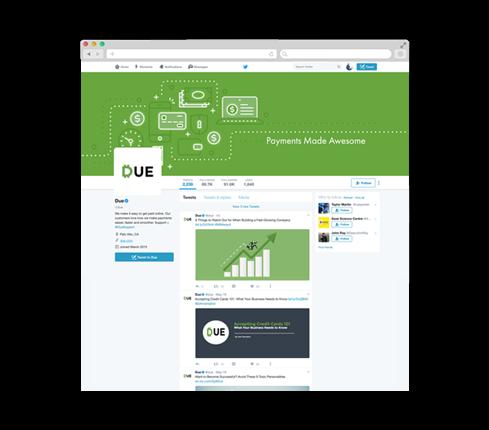 Software Social Media Page Design