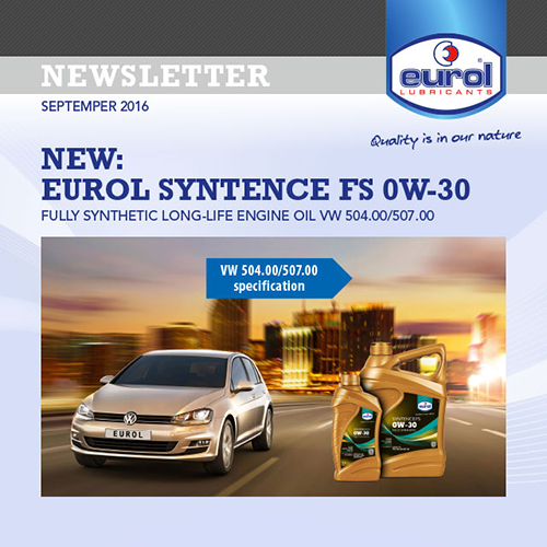 Automotive Newsletter Template Design