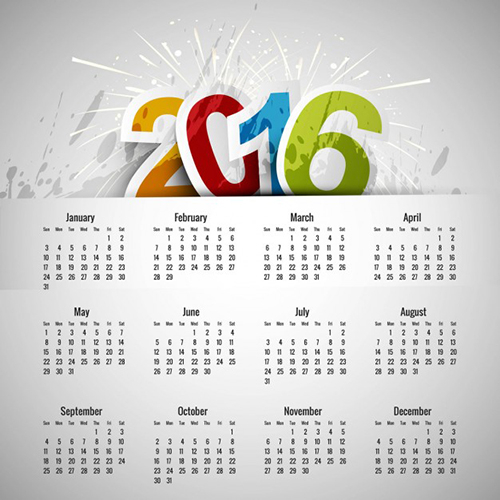 Professional Calendar Design