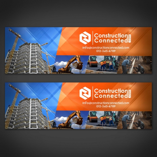 Construction LinkedIn Page Design