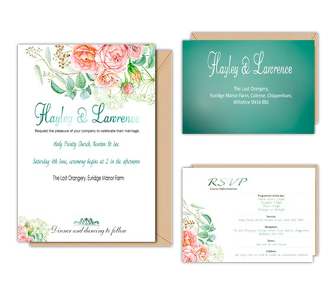 Online Invitation Card Design