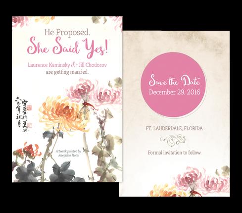 Custom Invitation Card Design
